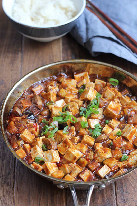 Chinese Tofu Recipes  easy mapo tofu recipe
