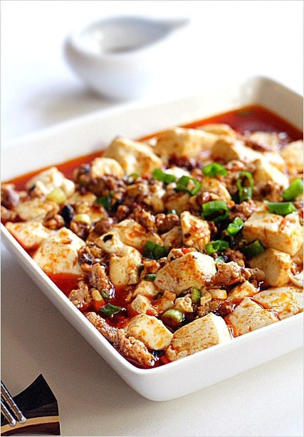 Chinese Tofu Recipes  Mapo Tofu