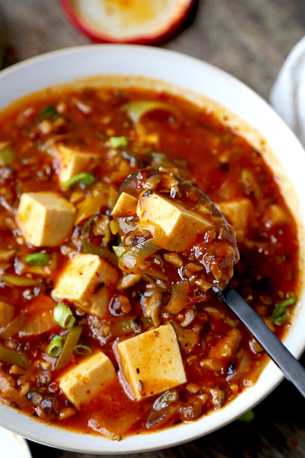 Chinese Tofu Recipes  The Ultimate Vegan Mapo Tofu 麻婆豆腐 Pickled Plum Food