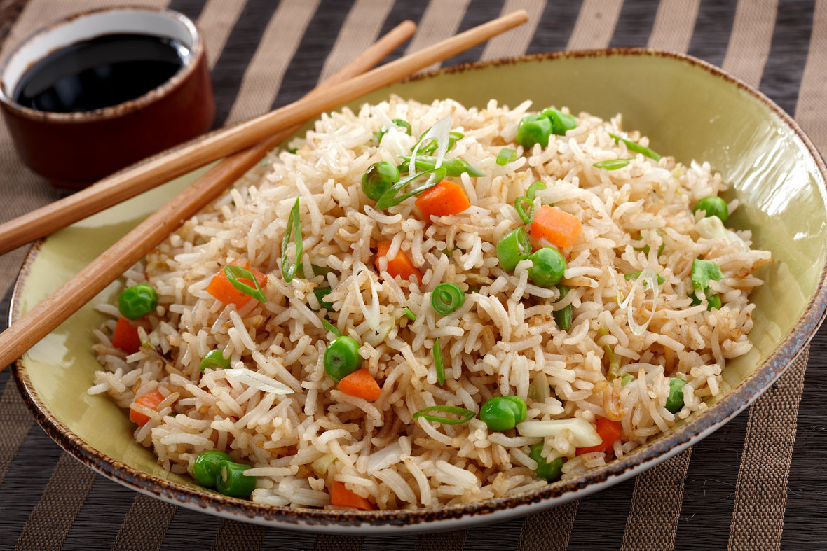 Chinese Vegetable Fried Rice  Chinese Ve able Fried Rice