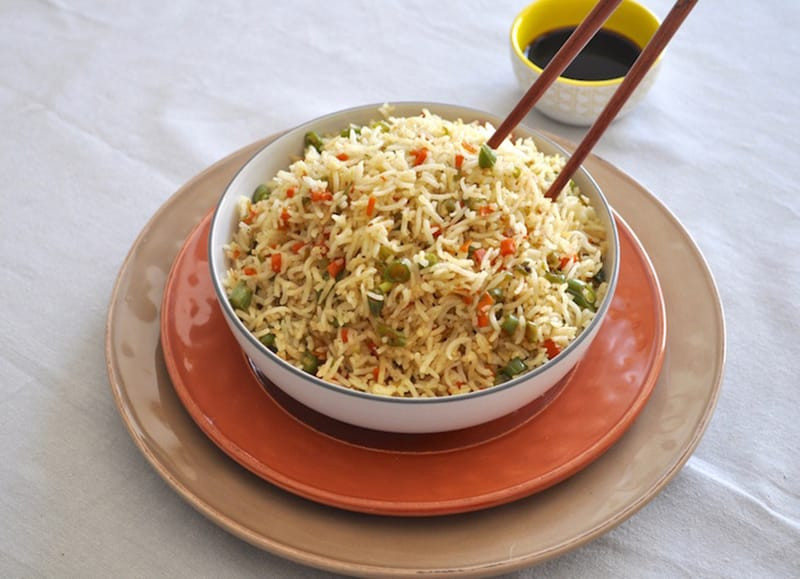 Chinese Vegetable Fried Rice  Chinese Veg Fried Rice Fried Rice Recipe
