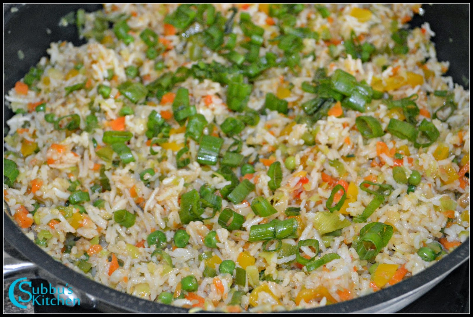 Chinese Vegetable Fried Rice  Chinese Ve able Fried Rice Recipe