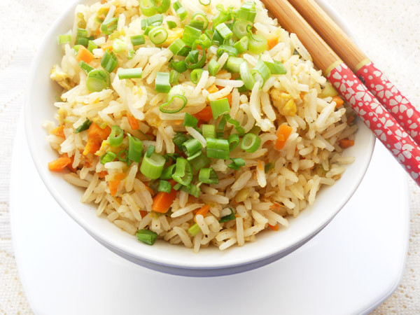Chinese Vegetable Fried Rice  Egg Noodles Chinese Style