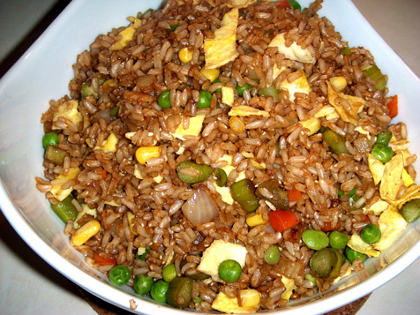 Chinese Vegetable Fried Rice  Jenny s Cookbook Chinese Ve able Fried Rice with Egg Recipe