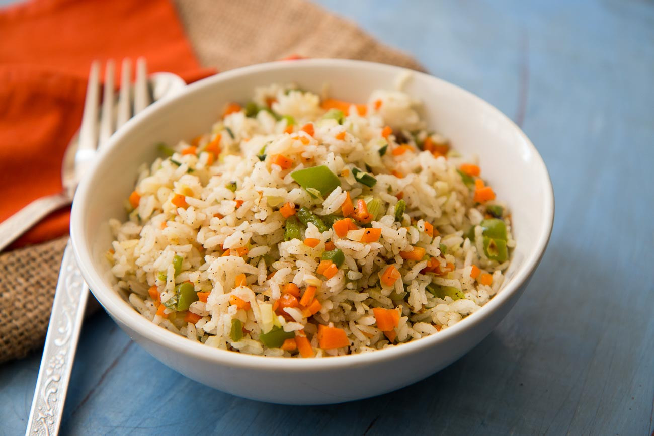 Chinese Vegetable Fried Rice  Chinese Ve able Fried Rice by Archana s Kitchen