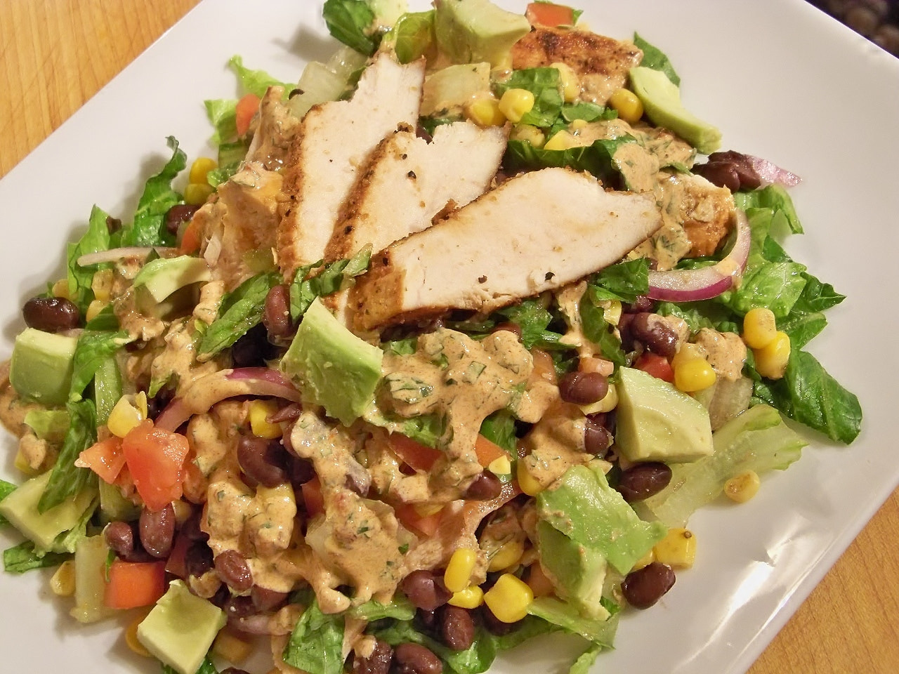 Chipotle Chicken Salad  Chipotle Chicken Taco Salad – Gourmet Day To Day