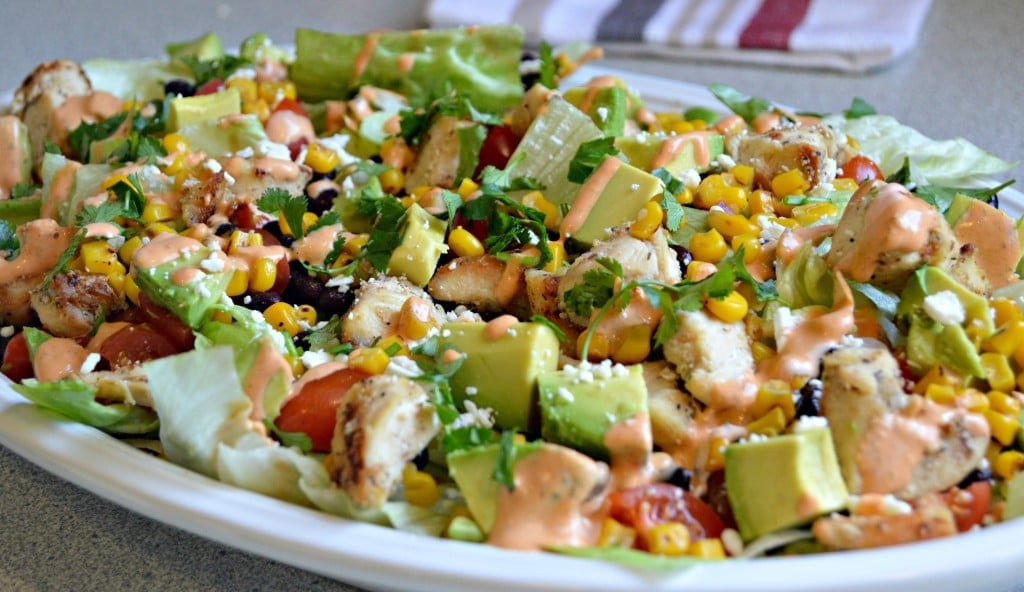 Chipotle Chicken Salad  Southwest Chipotle Chicken Salad For a Healthy Lunch