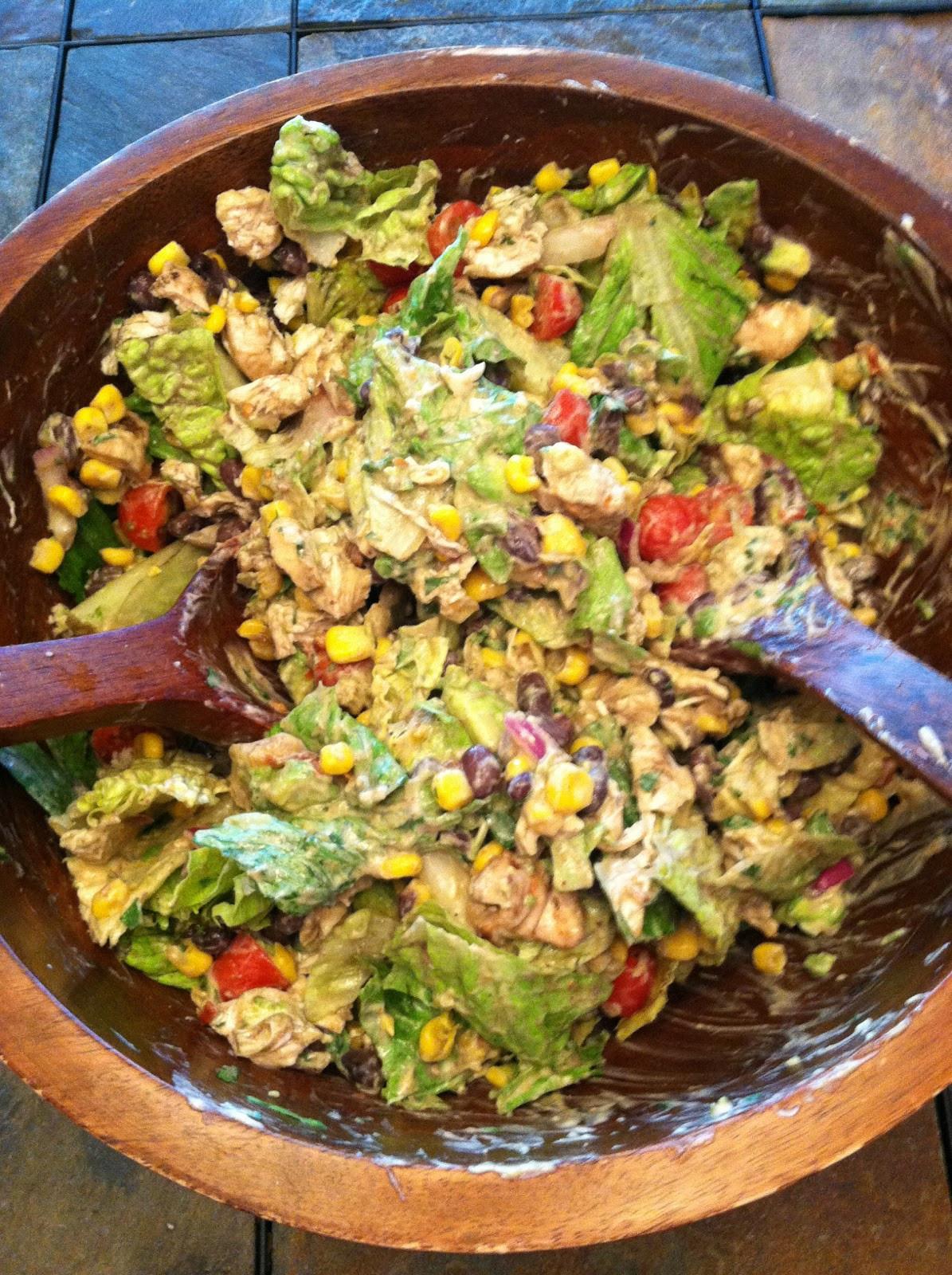 Chipotle Chicken Salad  Coast to Closet Chipotle Chicken Salad