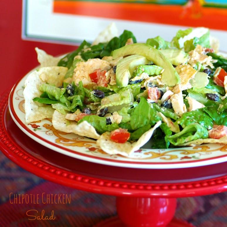 Chipotle Chicken Salad  Savoring Time in the Kitchen Chipotle Chicken Salad