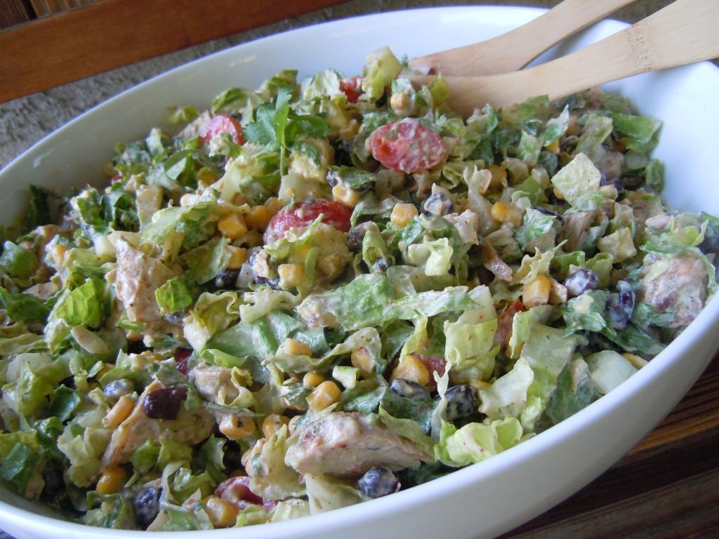 Chipotle Chicken Salad  Chipotle Chicken Taco Salad Natalie s Kitchen