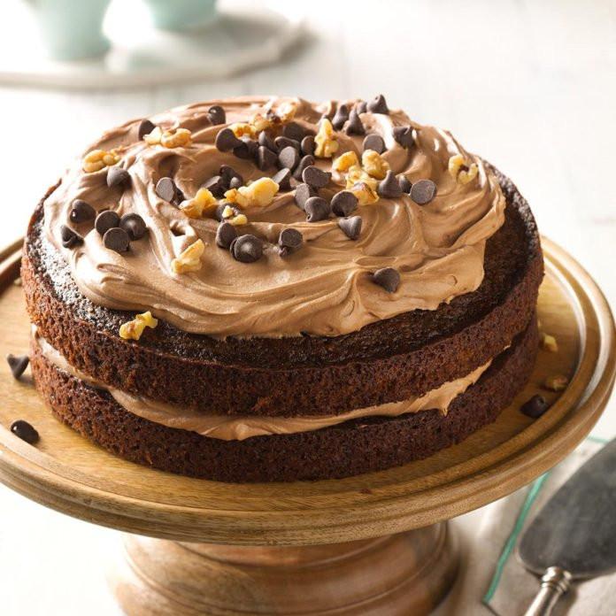 Choclate Carrot Cake  Chocolate Carrot Cake