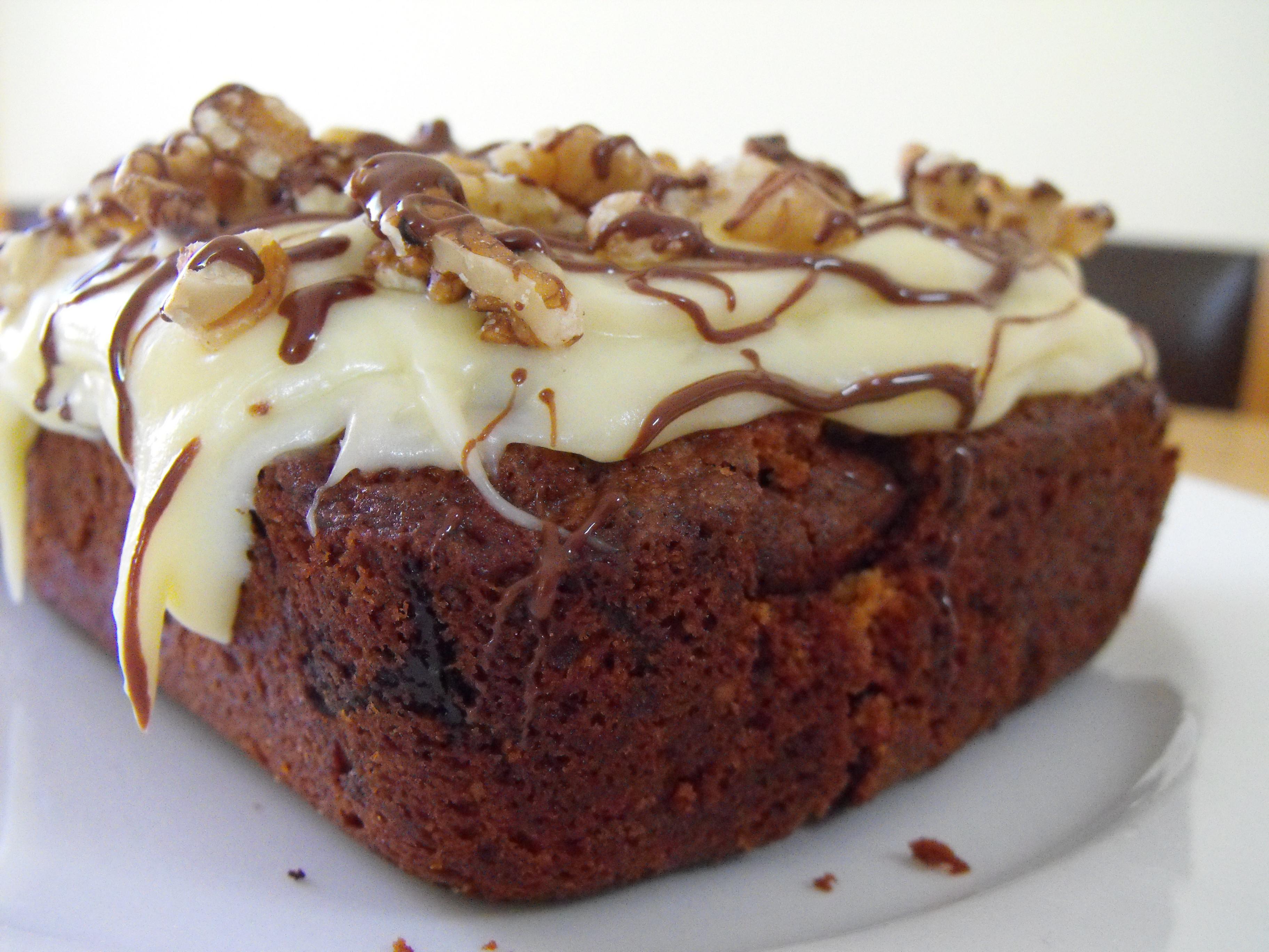 Choclate Carrot Cake  Chocolate Carrot Cake Recipe Everywhere