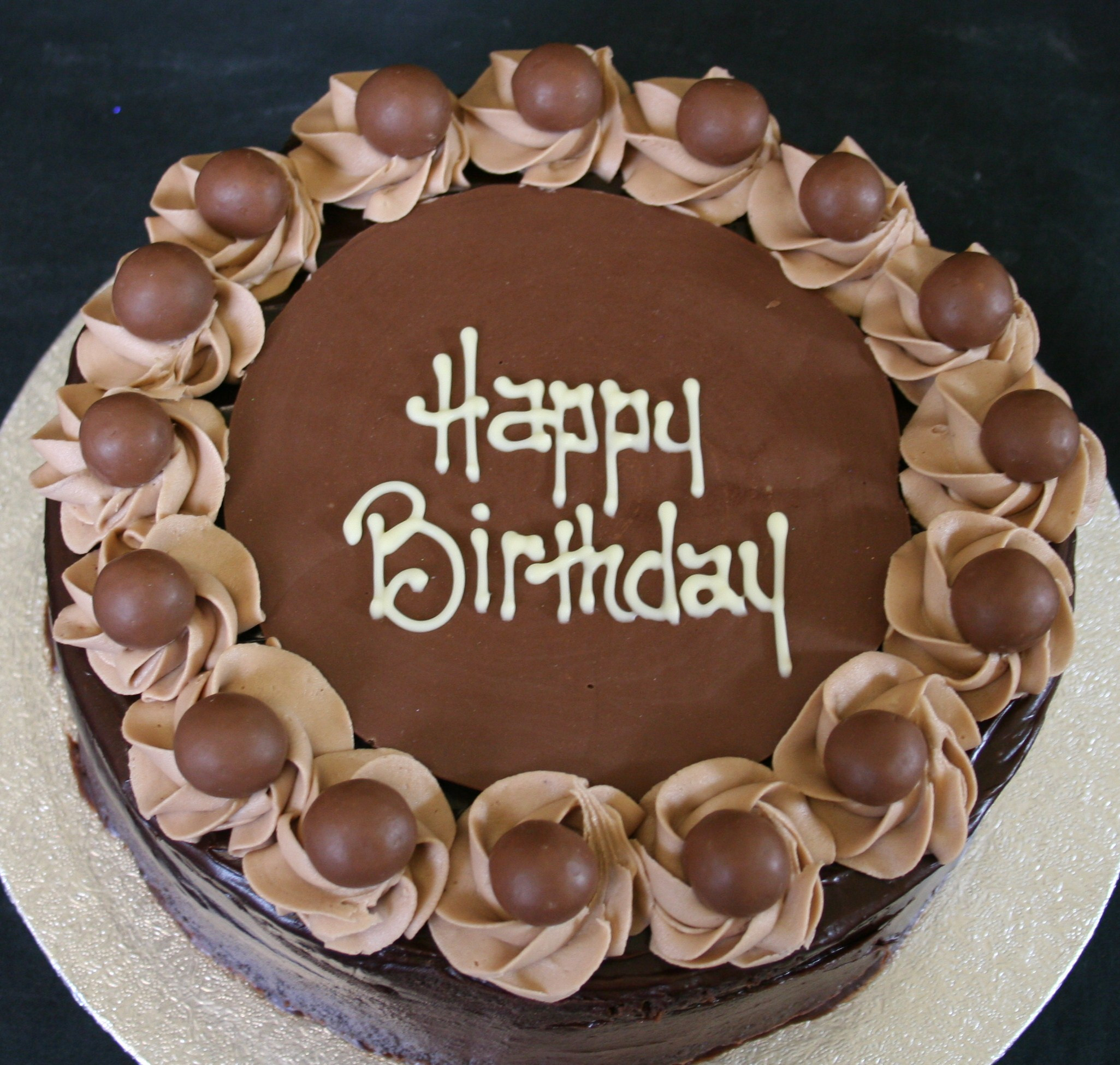 Chocolate Birthday Cake  Chocolate birthday cake and best Birthday Wishes