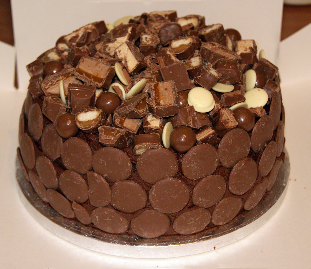 Chocolate Birthday Cake  The most beautiful cool chocolate birthday cakes