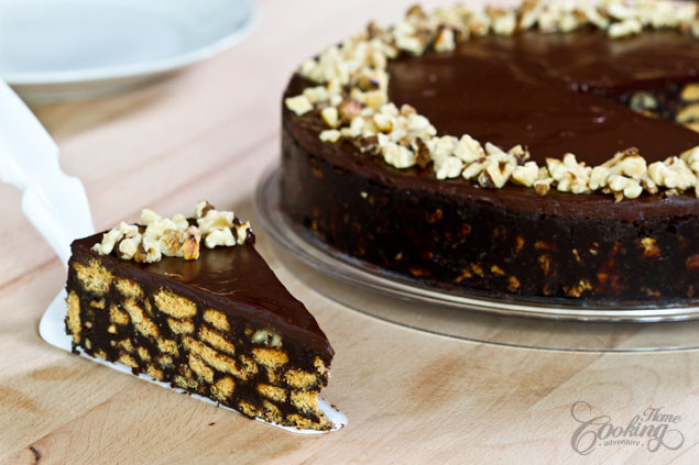 Chocolate Biscuit Cake  No Bake Chocolate Biscuit Cake Home Cooking Adventure