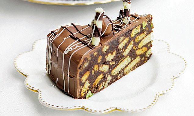 Chocolate Biscuit Cake  Recipes fit for a prince or two Chocolate biscuit cake