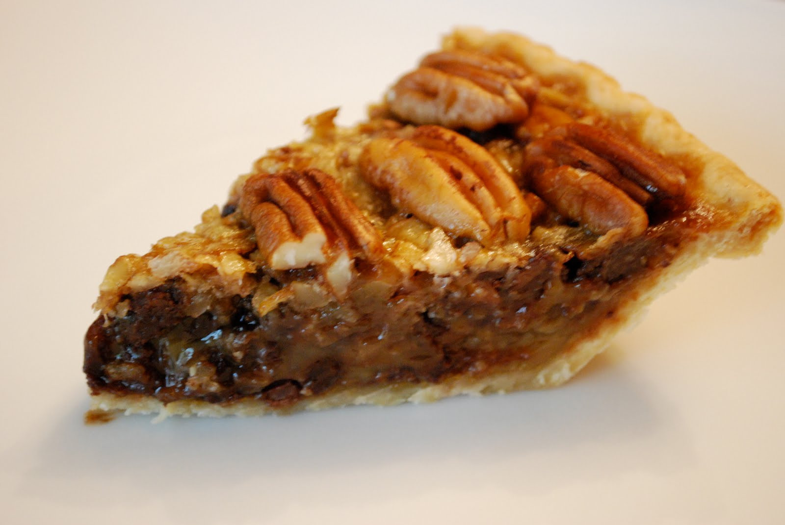 Chocolate Bourbon Pecan Pie  Bake Your Heart Out Chocolate Bourbon Pecan Pie