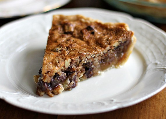 Chocolate Bourbon Pecan Pie  Father s Day Recipes