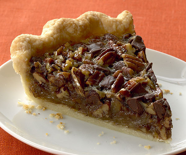 Chocolate Bourbon Pecan Pie  Bourbon Chocolate Pecan Pie Recipe FineCooking