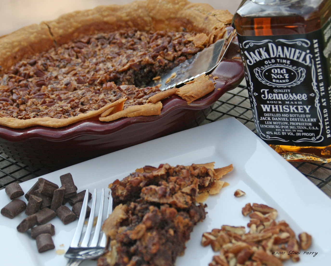 Chocolate Bourbon Pecan Pie  Chocolate Bourbon Pecan Pie