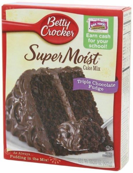 Chocolate Cake Calories  Calories in Betty Crocker Supermoist triple chocolate