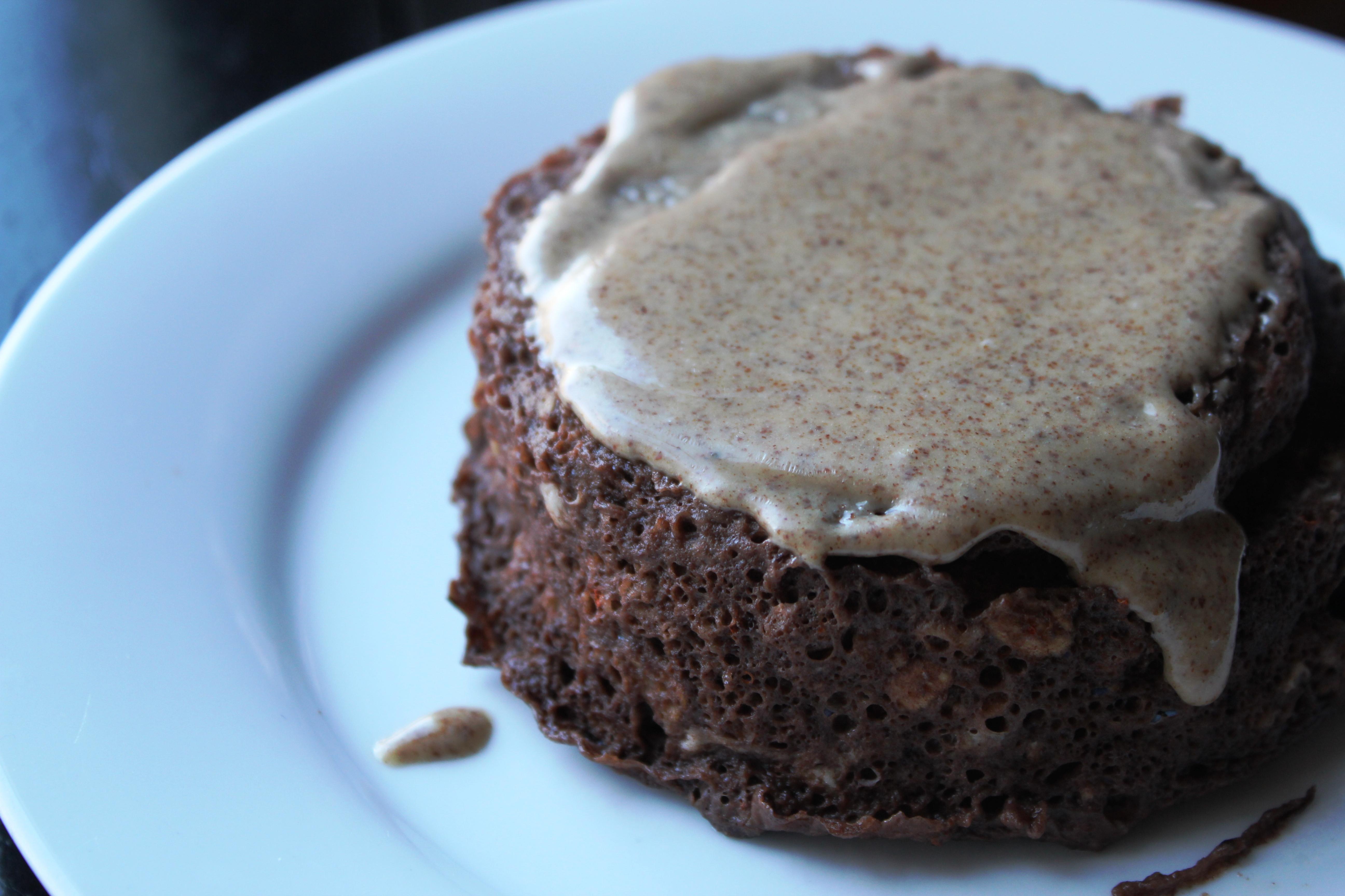 Chocolate Cake For Breakfast  Chocolate Protein Breakfast Cake