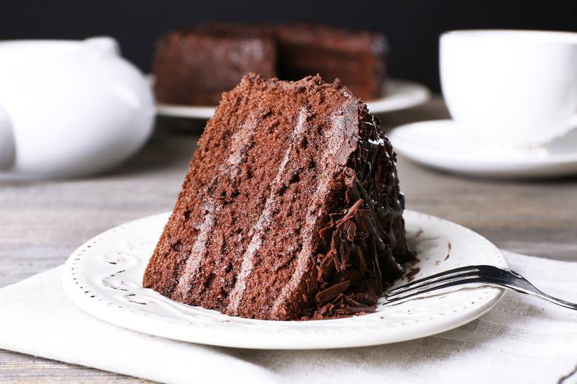 Chocolate Cake For Breakfast  Chocolate cake for breakfast Research says it s good for