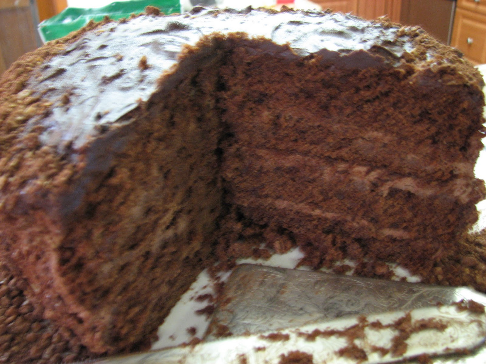 Chocolate Cake For Breakfast  Cooking 4 1 1 EMERGENCY CHOCOLATE CAKE
