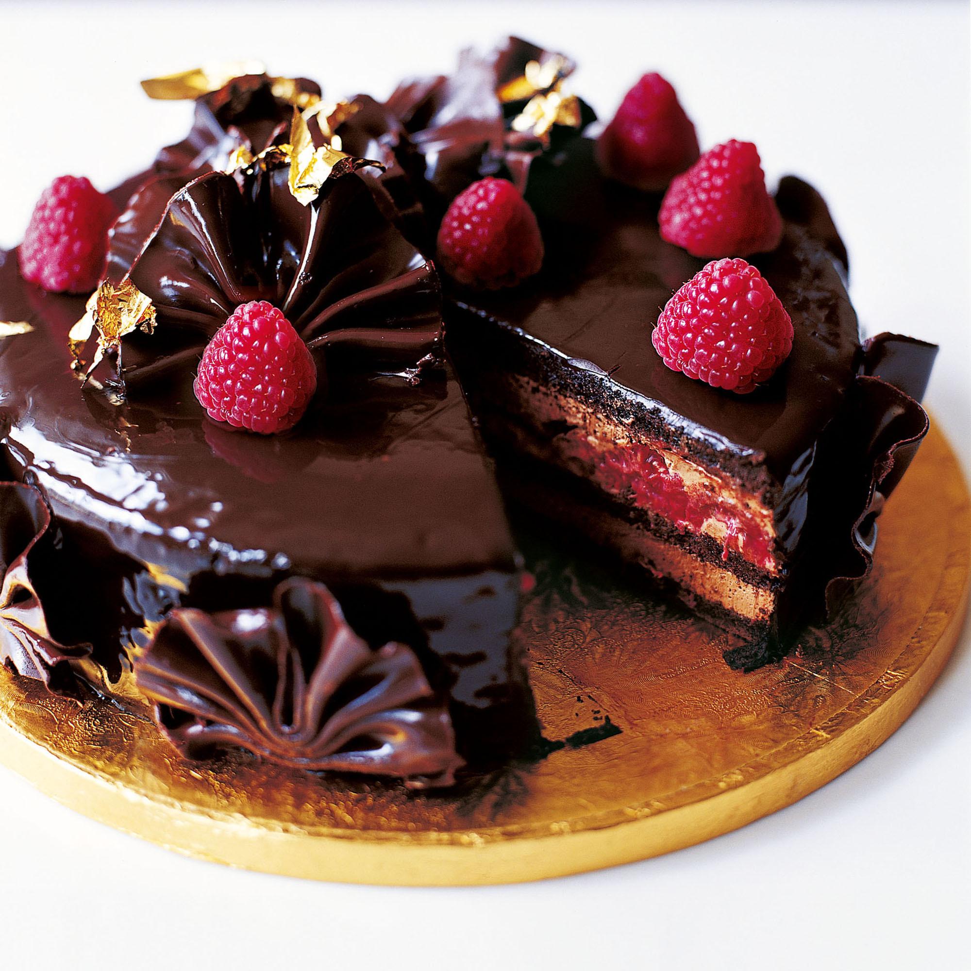 Chocolate Cake Ingredients  Eric Lanlard s Glamorous Chocolate Cake Woman And Home