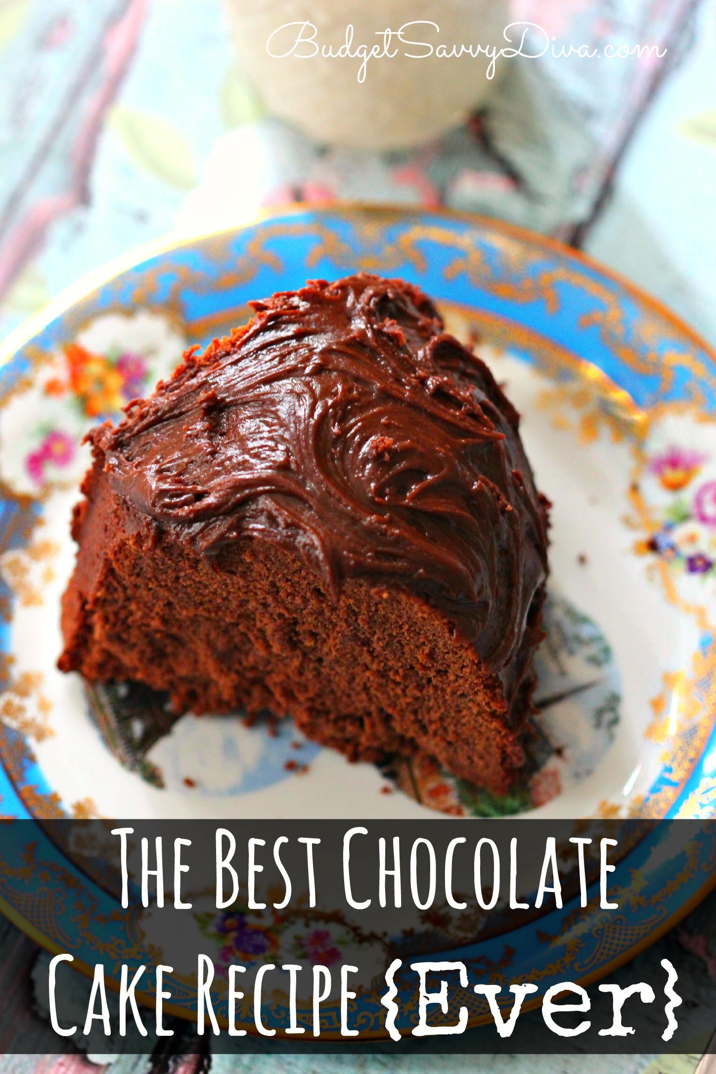 Chocolate Cake Mix Recipes  The Best Chocolate Cake Recipe Ever – Marie Recipe