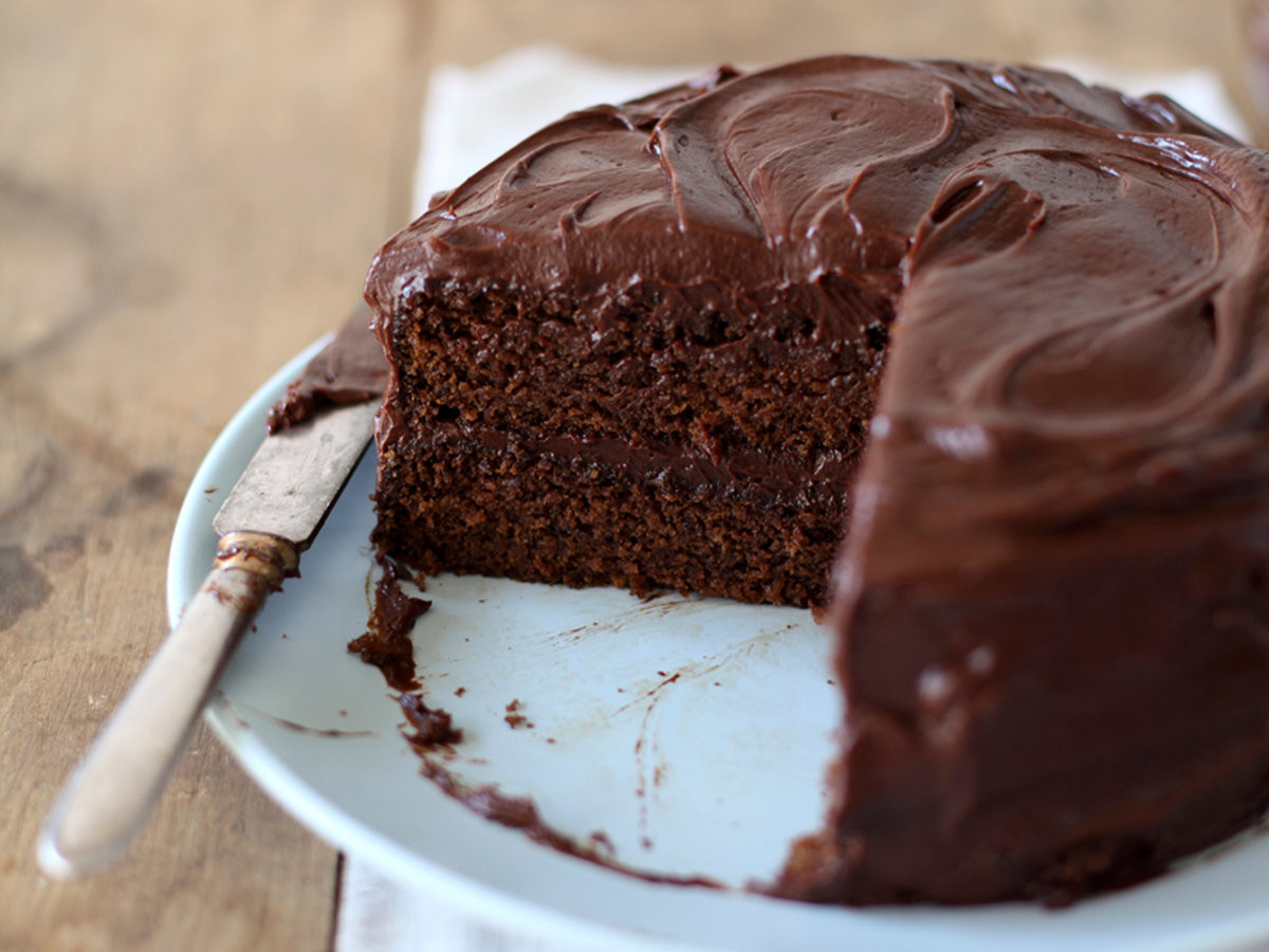 Chocolate Cake Recipe  Mom s Chocolate Cake Recipe Marcia Kiesel