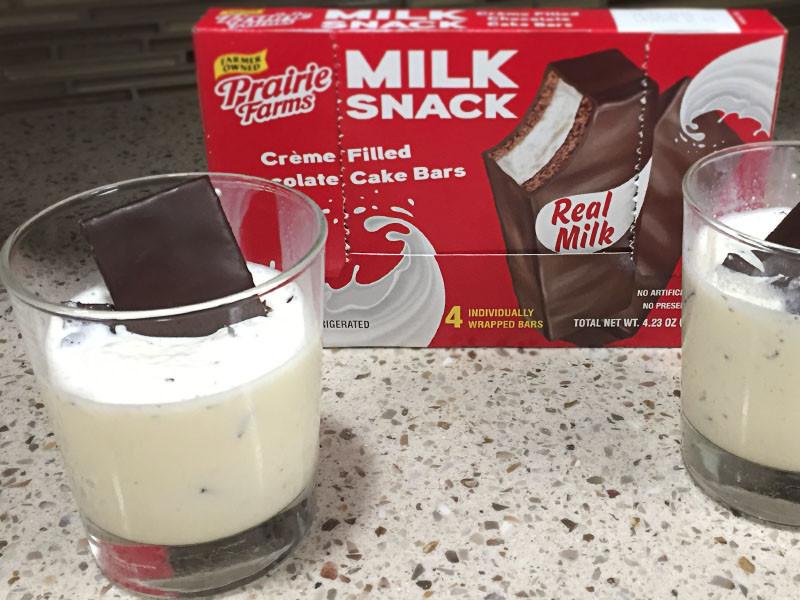 Chocolate Cake Shake Portillo'S  Prairie Farms Milk Snack Chocolate Cake Milkshake Recipe