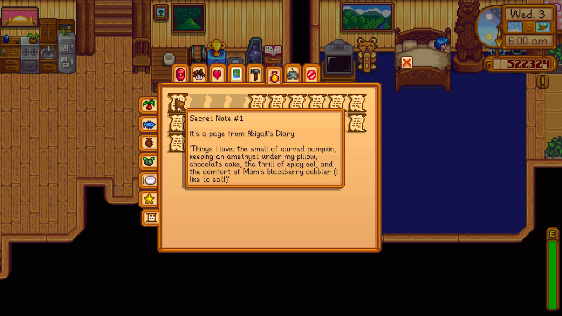 Chocolate Cake Stardew Valley  Secret Notes What They Say Rewards they Give Stardew