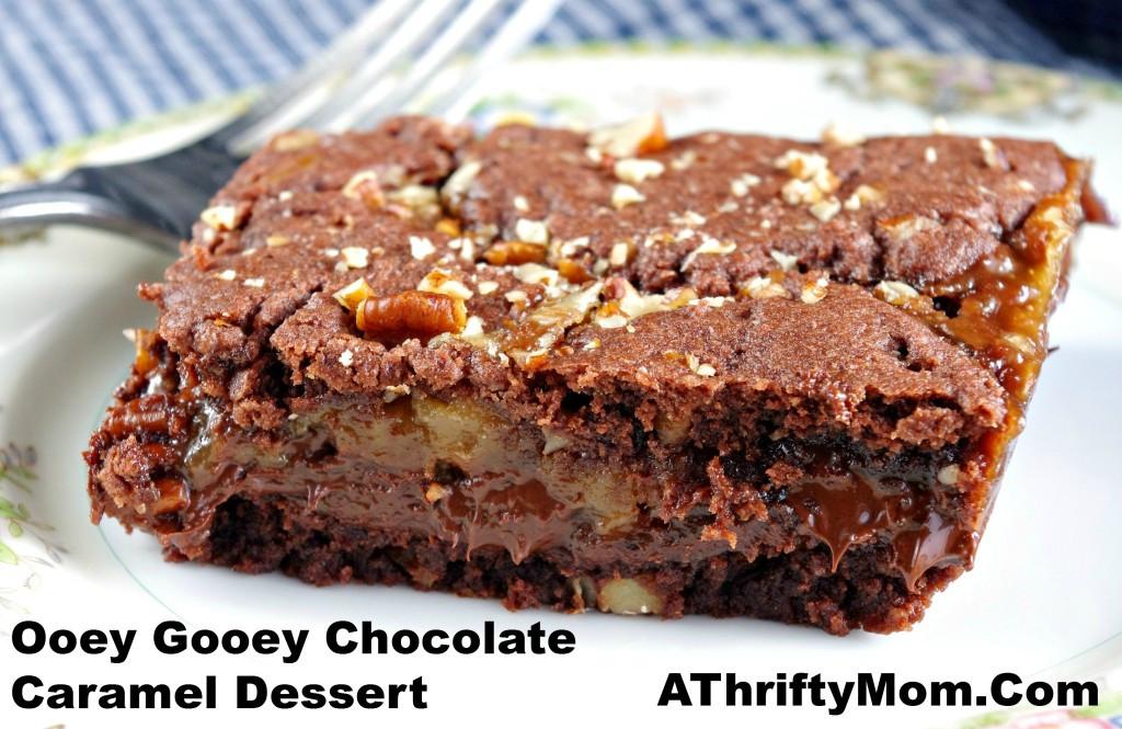 Chocolate Caramel Desserts  A Thrifty Mom