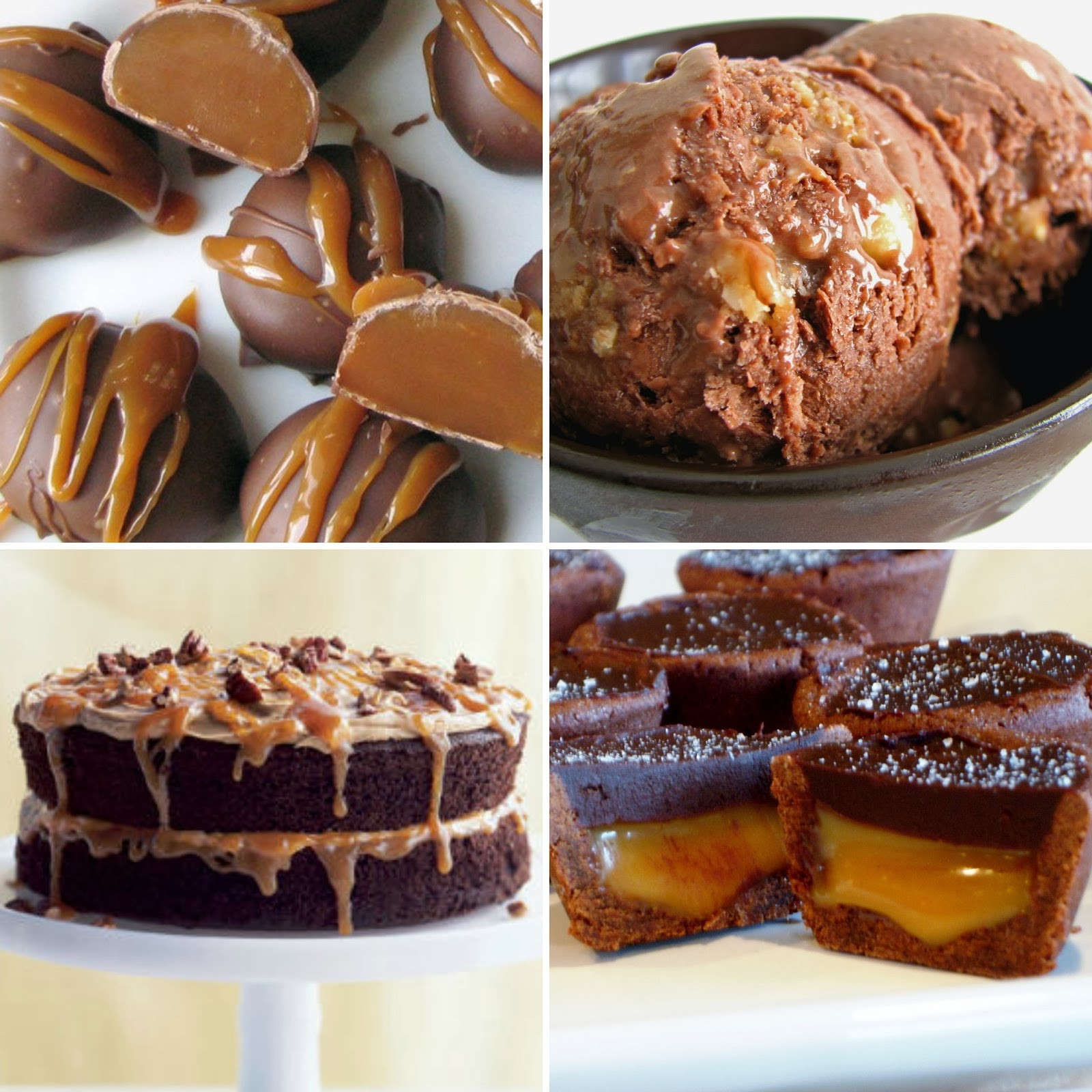 Chocolate Caramel Desserts  Thanks Mail Carrier