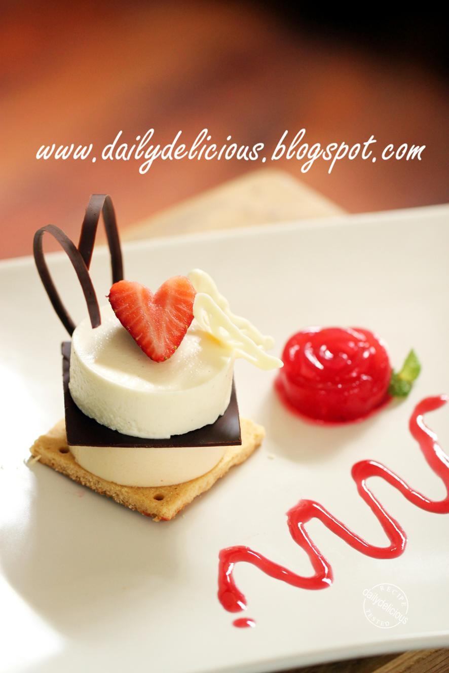Chocolate Caramel Desserts  dailydelicious Jardin d amour White chocolate caramel