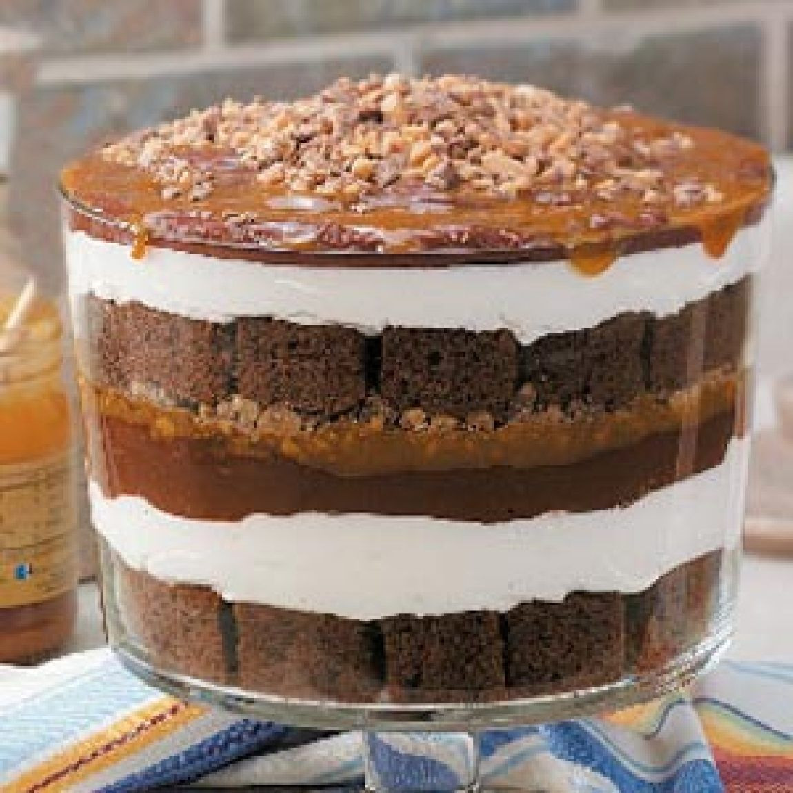 Chocolate Caramel Desserts  Caramel Chocolate Trifle Recipe