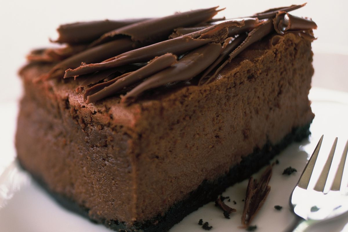Chocolate Cheese Cake  Chocolate cheesecake Recipes delicious