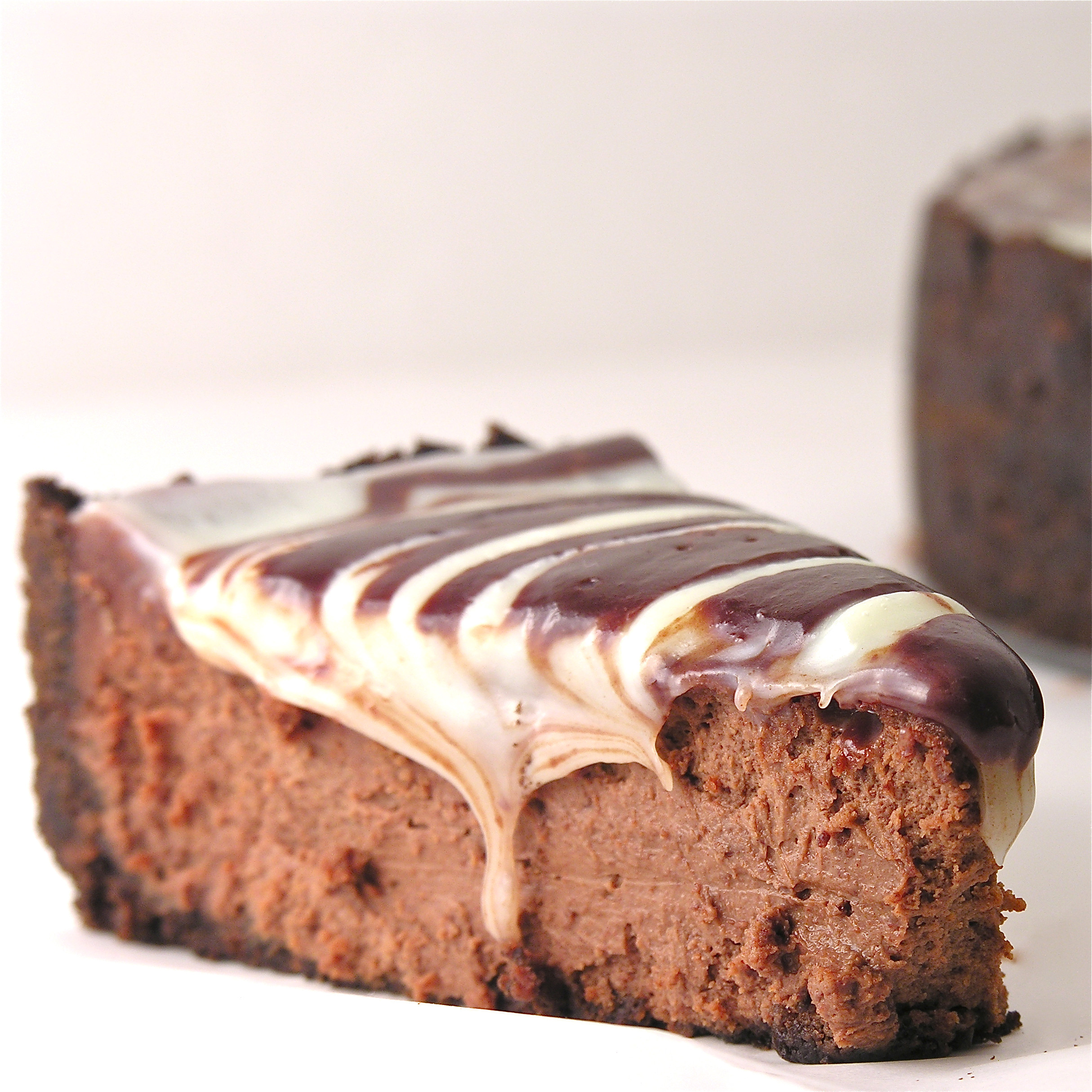 Chocolate Cheese Cake  Triple Chocolate Cheesecake