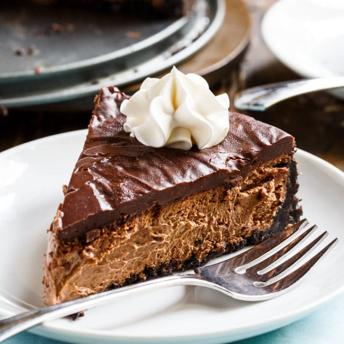 Chocolate Cheese Cake  Perfect Chocolate Cheesecake Spicy Southern Kitchen