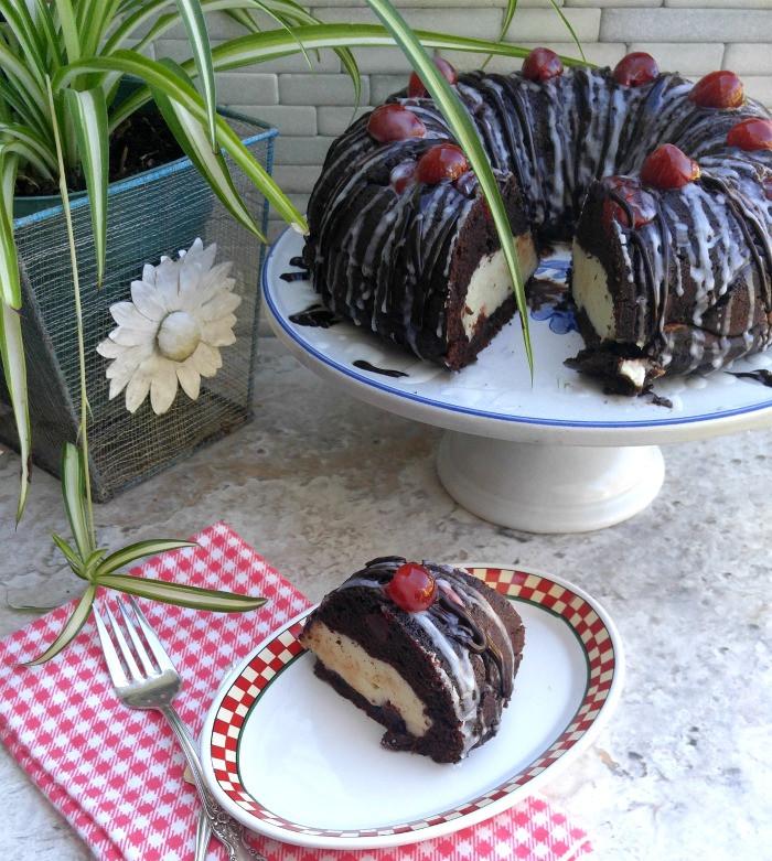 Chocolate Cherry Bundt Cake  Chocolate Cherry Cheesecake Bundt Cake Recipes Just 4U