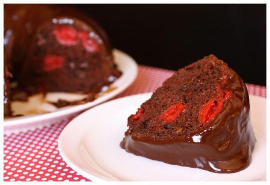 Chocolate Cherry Bundt Cake  Pin Valentines Chocolate Cherry Chip Cupcakes Cake on
