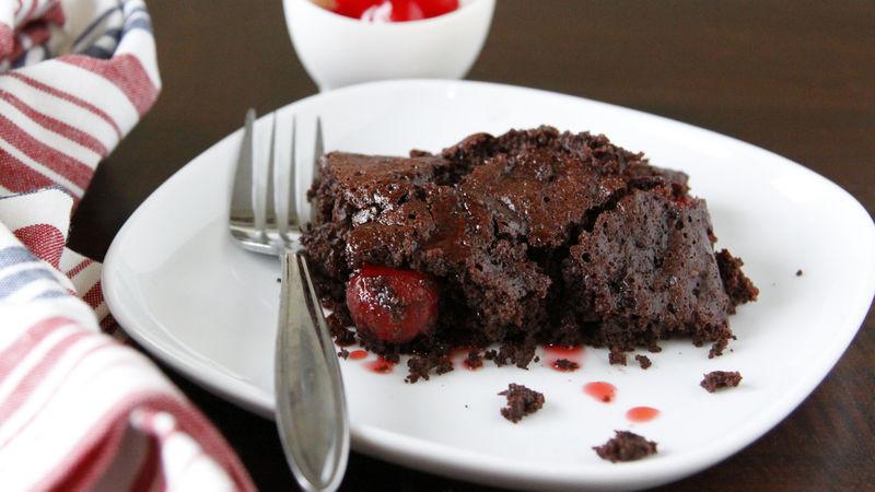 Chocolate Cherry Dump Cake  Cherry Cola Dump Cake Recipe BettyCrocker