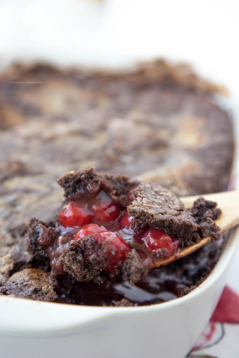 Chocolate Cherry Dump Cake  Chocolate Cherry Dump Cake Recipe
