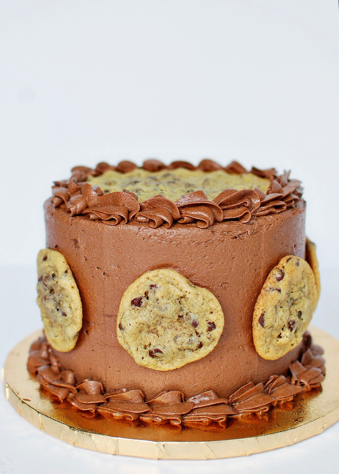 Chocolate Chip Cookie Cake  CAKE HAPPENS Chocolate Chip Cookie Cake