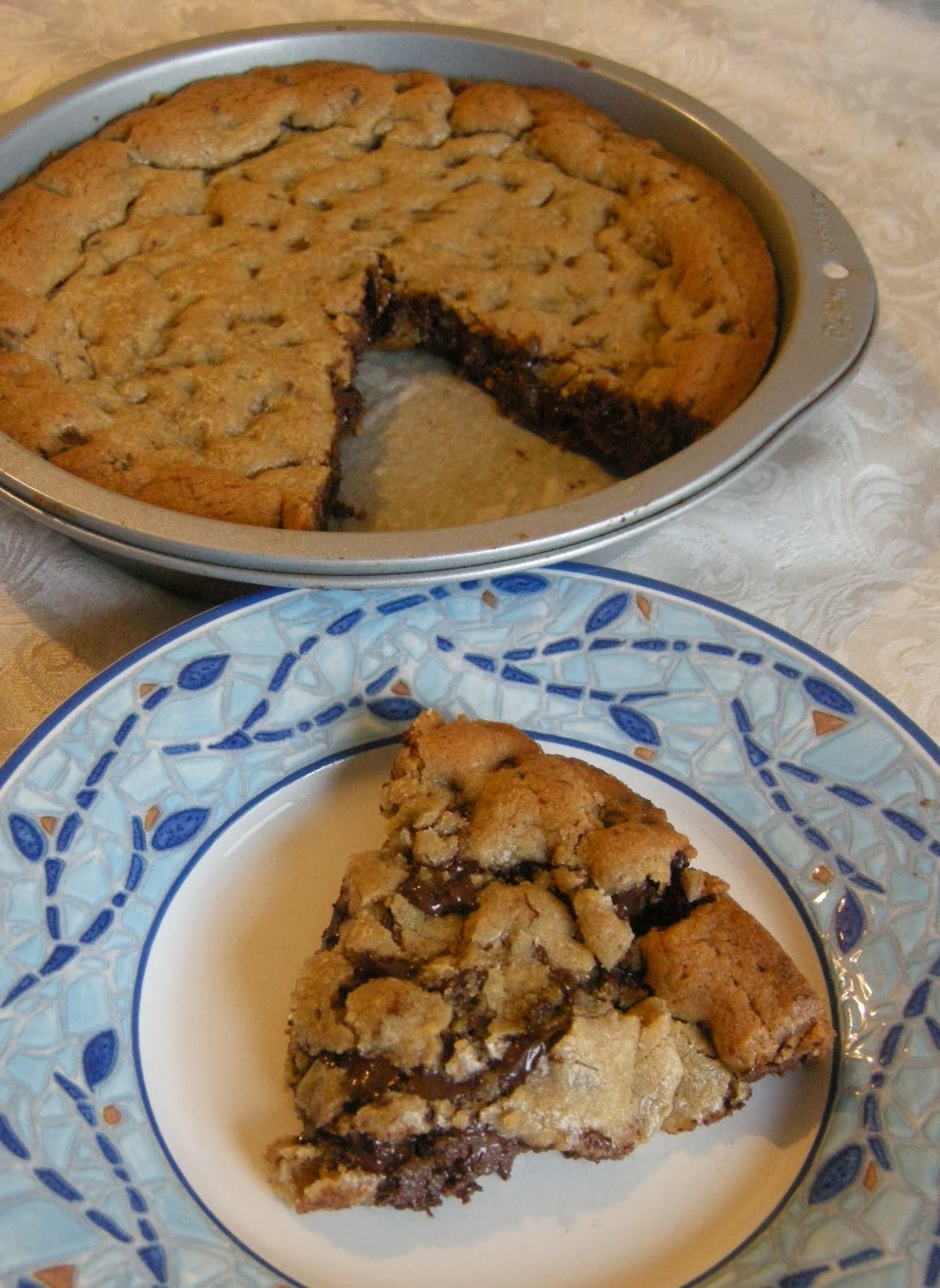 Chocolate Chip Cookie Cake  Chocolate Chip Cookie Cake