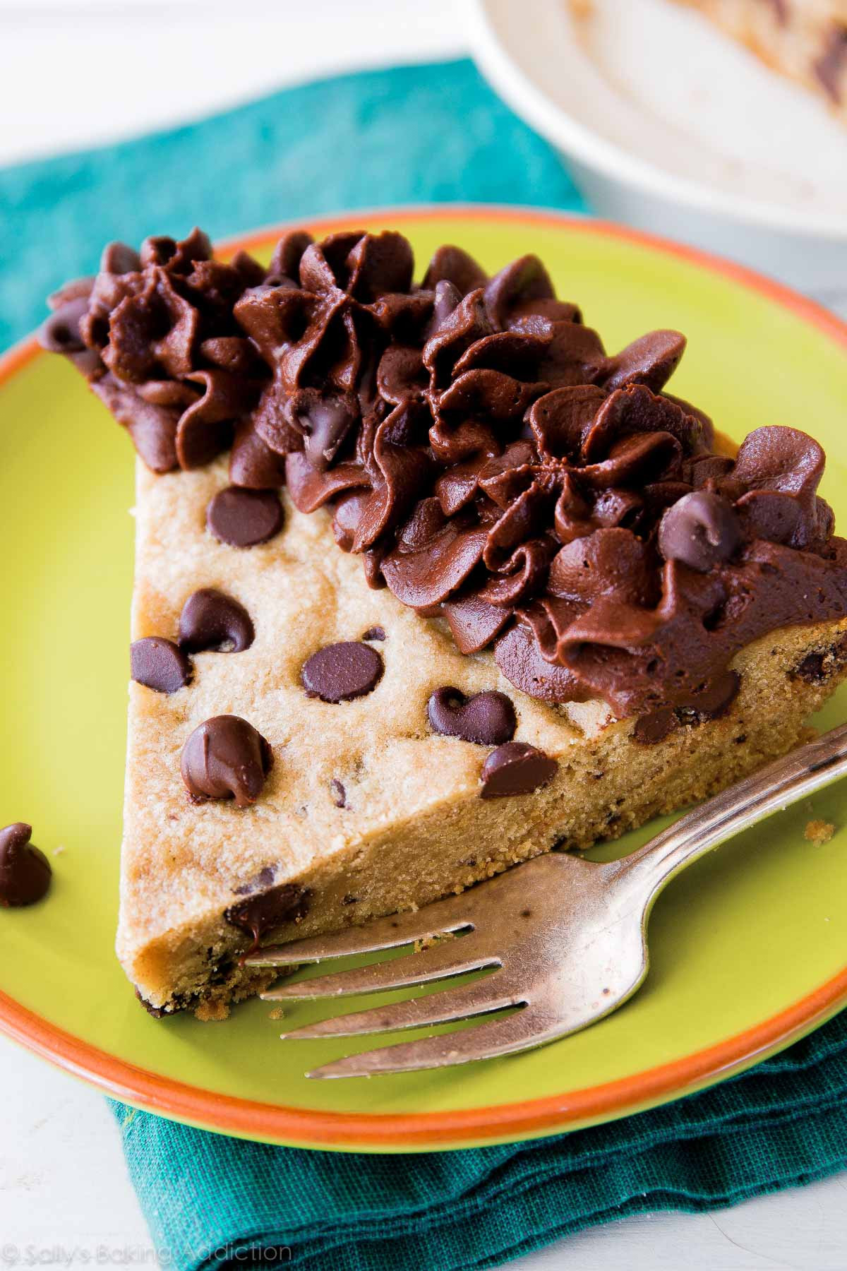Chocolate Chip Cookie Cake  Chocolate Chip Cookie Cake Sallys Baking Addiction