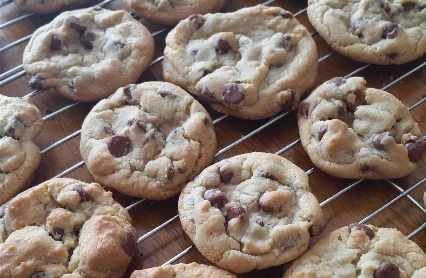 Chocolate Chip Cookies Allrecipes  Rolled Chocolate Chip Cookies Recipe by DoughEZ