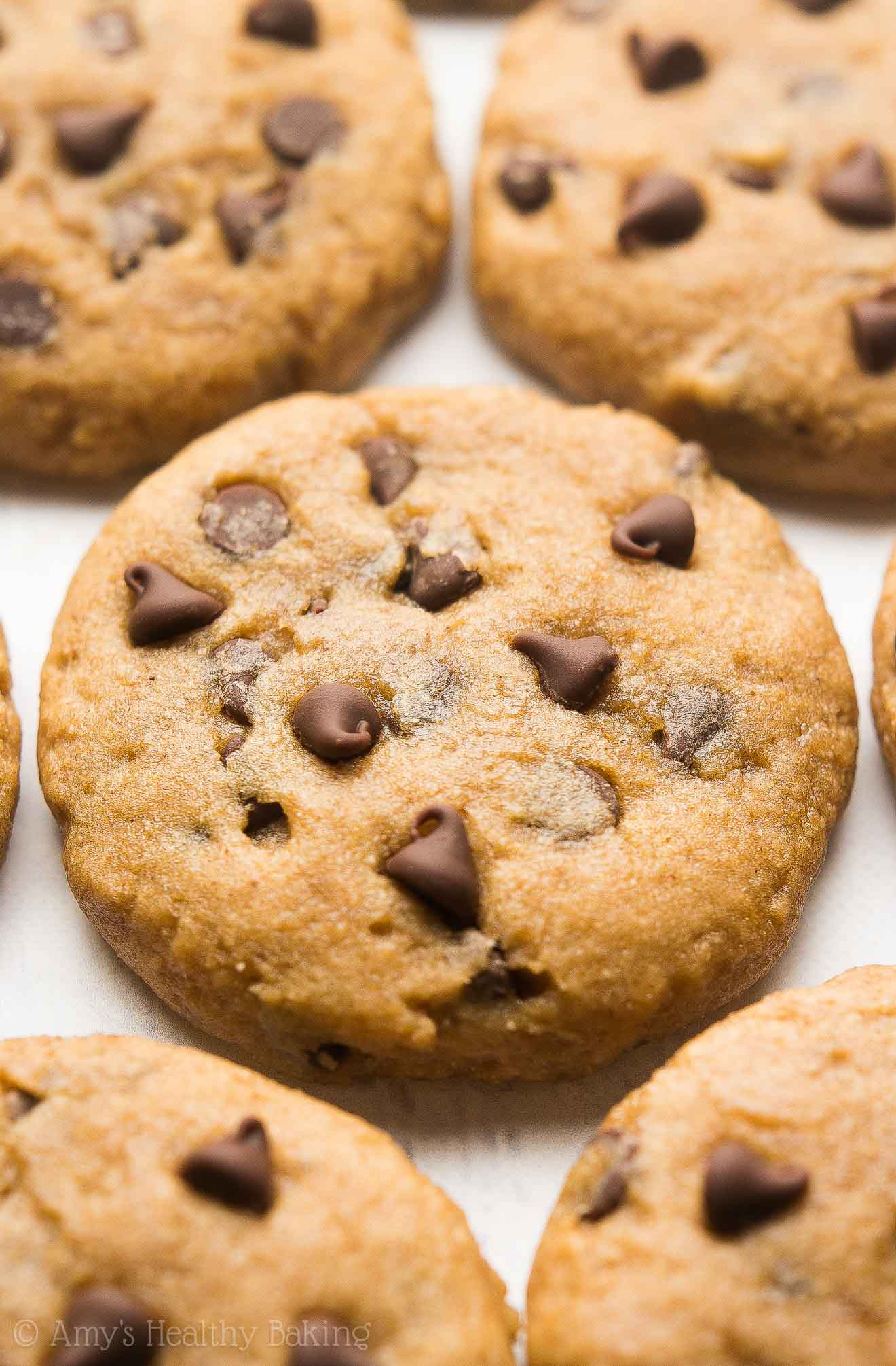 Chocolate Chip Cookies Allrecipes  Healthy Banana Chocolate Chip Cookies Recipe Video