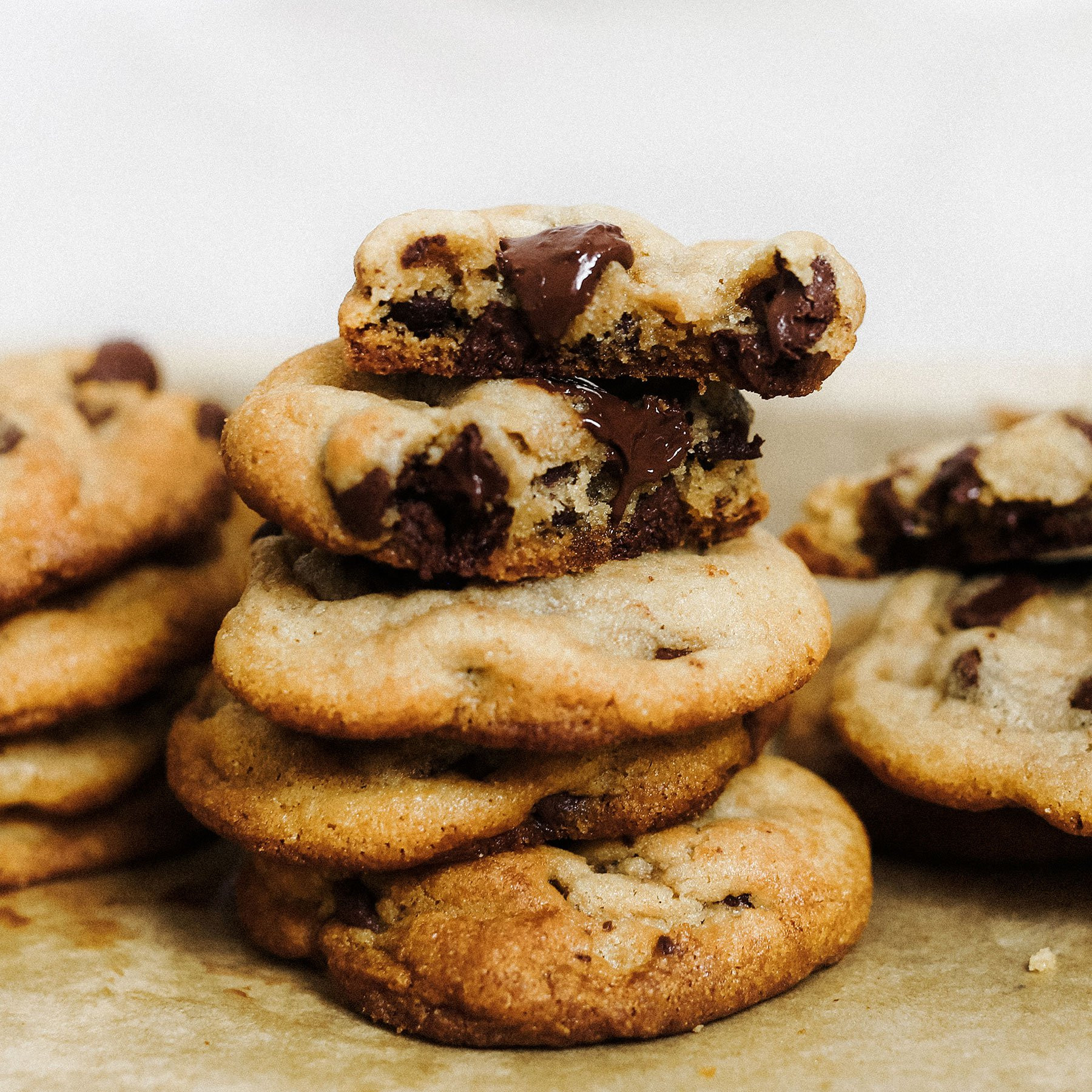 Chocolate Chip Cookies With Coconut Oil  Coconut Oil Chocolate Chip Cookies Handle the Heat